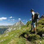 Mountain guide in Bregenzerwald